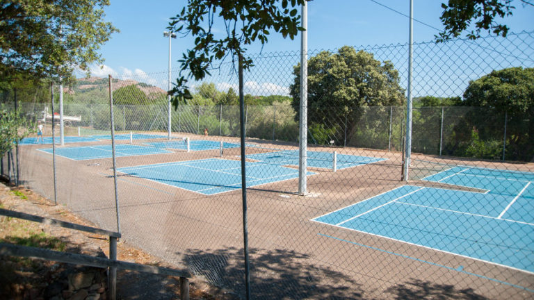 Outdoor Tennis courts