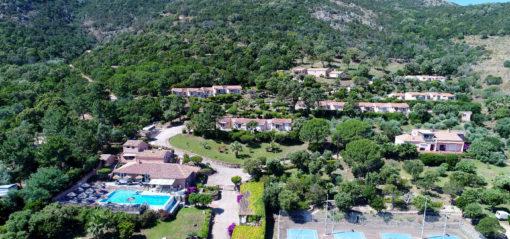 U Pirellu residence from the sky