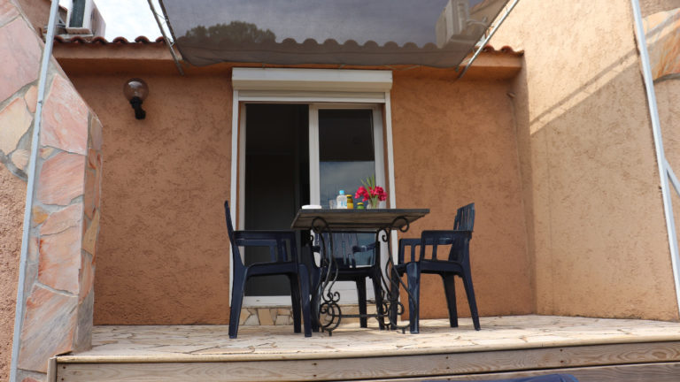 Studio terrasse aménagée